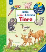 Cover-Bild zu Möller, Anne (Illustr.): Wieso? Weshalb? Warum? Mein junior-Lexikon: Tiere