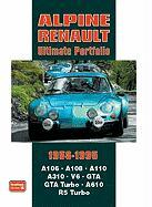 Cover-Bild zu Clarke, R. M. (Hrsg.): Alpine Renault Ultimate Portfolio 1958-1995