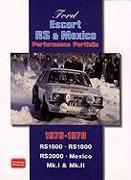 Cover-Bild zu Clarke, R. M. (Hrsg.): Ford Escort RS and Mexico Performance Portfolio 1970-1979