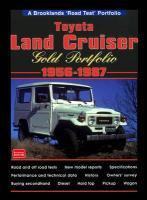 Cover-Bild zu Clarke, R. M. (Hrsg.): Toyota Land Cruiser Gold Portfolio.1956 to 1987