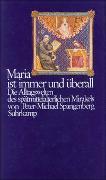 Cover-Bild zu Spangenberg, Peter-Michael: Maria ist immer und überall