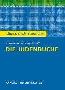 Cover-Bild zu von Droste-Hülshoff, Annette: Die Judenbuche. Königs Erläuterungen (eBook)