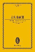Cover-Bild zu Bach, Johann Sebastian: Overture (Suite) No. 4 D major (eBook)