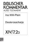 Cover-Bild zu Willi-Plein, Ina: Deuterosacharja
