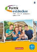 Cover-Bild zu Berger, Michael: Politik entdecken, Gymnasium Niedersachsen - G9, 8. Schuljahr, Schülerbuch