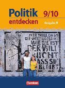 Cover-Bild zu Berger-v. d. Heide, Thomas: Politik entdecken, Realschule Niedersachsen, 9./10. Schuljahr, Schülerbuch