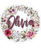 Cover-Bild zu Jones, Terri: Olivia Floral Wreath Personalized Notebook