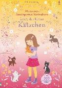 Cover-Bild zu Mein erstes Anziehpuppen-Stickerbuch: Kitti, das kleine Kätzchen