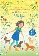 Cover-Bild zu Mein erstes Anziehpuppen-Stickerbuch: Wuff, der kleine Welpe
