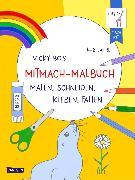 Cover-Bild zu Vicky Bo: Vicky Bo's Mitmach-Malbuch
