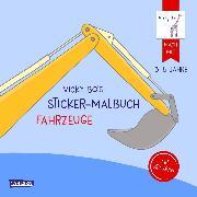 Cover-Bild zu Vicky Bo: Vicky Bo's Sticker-Malbuch Fahrzeuge: Erstes Malen, Zeichnen und Kritzeln mit Stickern