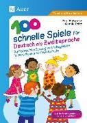 Cover-Bild zu eBook 100 schnelle Spiele für Deutsch als Zweitsprache