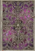 Cover-Bild zu Silberfiligran Aubergine Midi liniert
