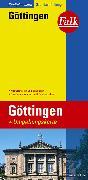Cover-Bild zu Falk Stadtplan Extra Standardfaltung Göttingen mit Ortsteilen von Bovenden 1:15