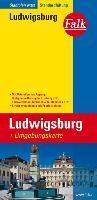 Cover-Bild zu Falk Stadtplan Extra Standardfaltung Ludwigsburg mit Ortsteilen von Asperg