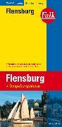 Cover-Bild zu Falk Stadtplan Extra Standardfaltung Flensburg mit Ortsteilen von Glücksburg