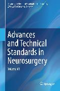 Cover-Bild zu eBook Advances and Technical Standards in Neurosurgery
