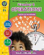 Cover-Bild zu eBook Number & Operations - Task & Drill Sheets Gr. 3-5