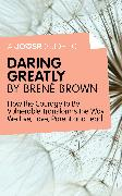 Cover-Bild zu A Joosr Guide to. Daring Greatly by Brené Brown (eBook) von Brown, Brené