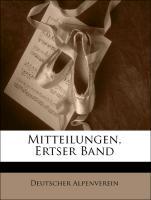 Cover-Bild zu Mitteilungen, Ertser Band