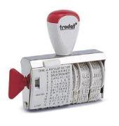 Cover-Bild zu TRODAT® Wort- und Datumstempel 1117, 4 mm deutsch