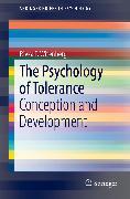 Cover-Bild zu eBook The Psychology of Tolerance