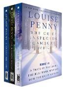 Cover-Bild zu The Chief Inspector Gamache Series, Books 7-9 (eBook) von Penny, Louise