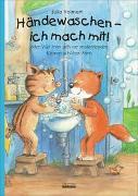 Cover-Bild zu Volmert, Julia: Händewaschen - ich mach mit oder Wie man sich vor ansteckenden Keimen schützen kann! Bilderbuch übers richtige Händewaschen, inkl. Hust- und Nies-Etikette!
