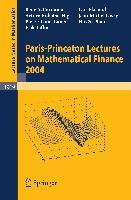 Cover-Bild zu Carmona, Rene A.: Paris-Princeton Lectures on Mathematical Finance 2004