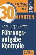 Cover-Bild zu eBook 30 Minuten Führungsaufgabe Kontrolle