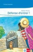 Cover-Bild zu Defense d'entrer! von Thomas, Marlene