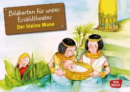 Cover-Bild zu Der kleine Mose. Kamishibai Bildkartenset von Brandt, Susanne