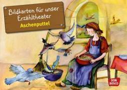 Cover-Bild zu Bildkarten für unser Erzähltheater: Aschenputtel von Lefin, Petra (Illustr.)