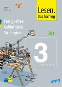 Cover-Bild zu Lesen. Das Training 3. Oberstufe. Arbeitsmappe von Kruse, Gerd