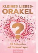 Cover-Bild zu Kleines Liebesorakel. 50 Antworten auf Herzensfragen