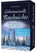 Cover-Bild zu Geheimnisvolle Rauhnächte - 48 Orakelkarten mit Anleitung von Deiß, Caroline