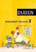 Cover-Bild zu Arbeitsheft Deutsch 3. Schuljahr. Ausgabe A. SAS von Hofmann, Gernot