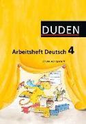 Cover-Bild zu Arbeitsheft Deutsch 4. Schuljahr. Ausgabe A. SAS von Blume, Mikaela