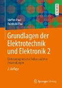 Cover-Bild zu Grundlagen der Elektrotechnik und Elektronik 2 (eBook) von Paul, Steffen