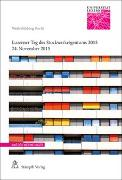 Cover-Bild zu Luzerner Tag des Stockwerkeigentums 2015 von Caroni, Andrea C.