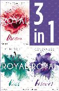 Cover-Bild zu Die Royals-Saga 4-6: - Royal Dream / Royal Kiss / Royal Forever (eBook) von Lee, Geneva