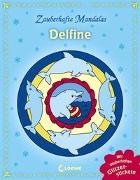 Cover-Bild zu Zauberhafte Mandalas - Delfine (mit Glitzerstickern) von Loewe Kreativ (Hrsg.)