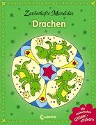 Cover-Bild zu Zauberhafte Mandalas: Drachen (mit Glitzerstickern) von Loewe Kreativ (Hrsg.)