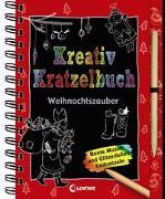 Cover-Bild zu Kreativ-Kratzelbuch: Weihnachtszauber von Loewe Kratzel-Welt (Hrsg.)