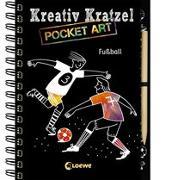Cover-Bild zu Kreativ-Kratzel Pocket Art: Fußball von Loewe Kratzel-Welt (Hrsg.)