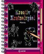 Cover-Bild zu Kreativ-Kratzelspiel: Pferde von Loewe Kratzel-Welt (Hrsg.)
