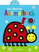 Cover-Bild zu Mein allererstes Ausmalbuch (Marienkäfer) von Loewe Kreativ (Hrsg.)