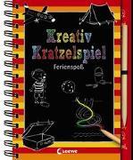 Cover-Bild zu Kreativ-Kratzelspiel: Ferienspaß von Loewe Kratzel-Welt (Hrsg.)