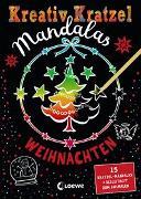 Cover-Bild zu Kreativ-Kratzel Mandalas - Weihnachten von Loewe Kratzel-Welt (Hrsg.)