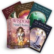 Cover-Bild zu Wisdom of the Hidden Realms Oracle Cards von Baron-Reid, Colette